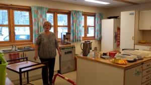 Godt med hjelp på kjøkkenet, takk til Oddlaug og Susanne for hjelpa.